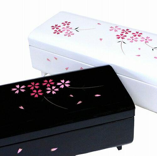 【既存曲リストからお好きな曲を選べます】会津塗宝石箱〜桜〜・18Nタイプオルゴール