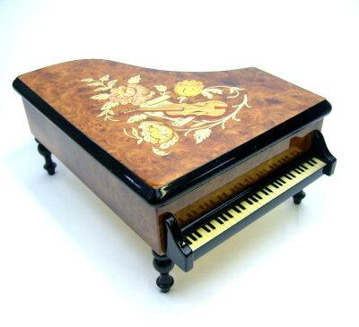 イタリア象嵌グランドピアノ