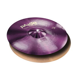 "PAISTE Color Sound 900 Purple Hi-Hat 14"" パイステ ハイハット TOPのみ"