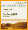 Aria AGS-600AB を 1set アコースティックベース用 弦