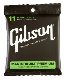 Gibson (ギブソン) SAG-MB11 フォークギター弦 ウルトラライト 3セット
