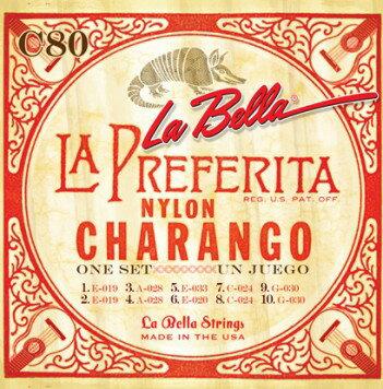 LaBella Charango (チャランゴ) C80 を 1set