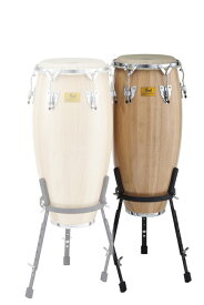 "Pearl White Wood Conga w/Remo Nuskin HeadsCG-110WSR(11""× 28"")"