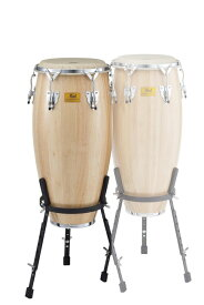 "Pearl White Wood Conga w/Remo Nuskin HeadsCG-117WSR(113/4""×28"")"