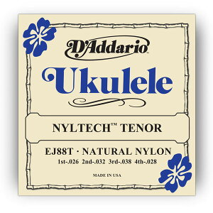D'Addario EJ88T Nyltech Ukulele, Tenor を 2set ダダリオ ウクレレ弦