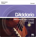 D'Addario EJ53C BLACK NYLON を 1set ダダリオ ウクレレ弦