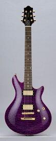 Edwards E-PO-105D/QM STPR See Thru Purple リッターギグバックサービス エドワーズ エレキギター