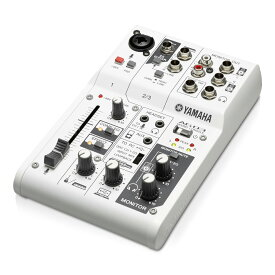 YAMAHA AG03 White 3チャンネルミキサー/USBオーディオインターフェイス