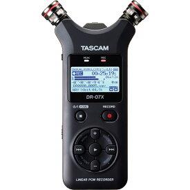 TASCAM DR-07X USBオーディオインターフェース搭載ステレオオーディオレコーダー