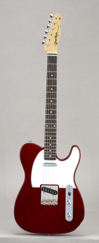 GrassRoots(グラスルーツ) エレキギター G-TE-50R/CAR CAR(Candy Apple Red)オリジナル猫ピック6枚サービス