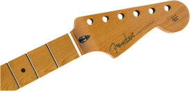 "Fender Roasted Maple Stratocaster Neck, 22 Jumbo Frets, 12"", Maple, Flat Oval Shape【フェンダー純正パーツ】【新品】"