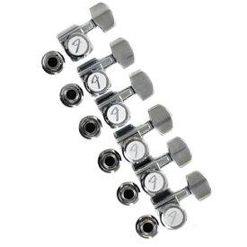 Fender Locking Tuners Chrome【フェンダー】【ペグ】【新品】