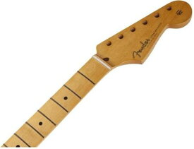 """Fender Mexico '50s Stratocaster Guitar Soft """"V"""" Maple Neck, 21 Vintage-Style Frets, Maple Fingerboard【フェンダー純正パーツ】【新品】"""