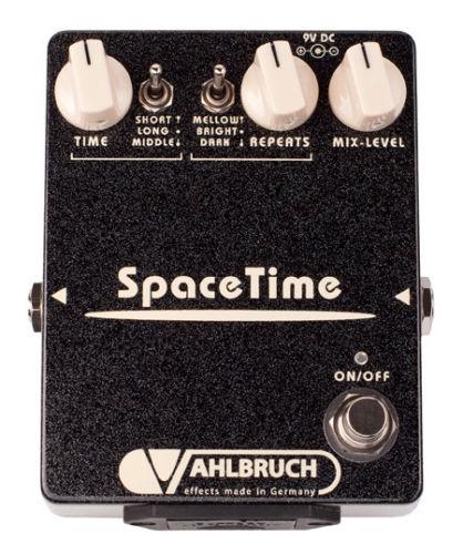 【レビューを書いて次回送料無料クーポンGET】VAHLBRUCH Space Time エフェクター【1年保証】【ファールブルーフ】【サファイアドライブ】【ディレイ】【新品】【RCP】