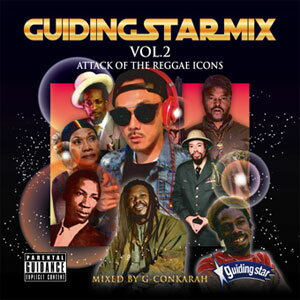 G-CONKARAH / GUIDING STAR MIX VOL.2 ATTACK OF THE REGGAE ICONS