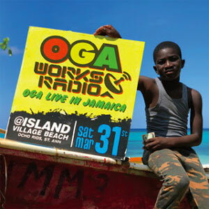OGA REP. JAH WORKS / OGA WORKS RADIO MIX VOL.8-OGA LIVE IN JAMAICA-
