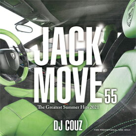 DJ COUZ / JACK MOVE 55-THE GREATEST SUMMER HITS 2021-