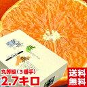 北海道、沖縄・一部離島は発送不可みかん王国「愛媛」の貴婦人!最高級柑橘「紅まどんな」丸2.7kg