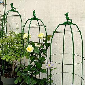 (170cm)植物支柱 花支え 直径調整可能 21-33cm つる性植物 花支柱 バラ 薔薇 ばら 植物園芸用品 誘引 植物サポート トレリス オベリスク ガーデニング 送料無料