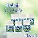 乳酸菌ミドリムシ6本セット/15%OFF/送料無料/無添加/ミドリムシ/乳酸菌/健康補助食品/サプリメント/