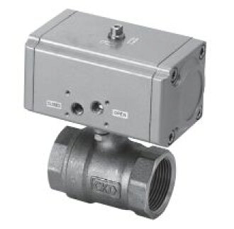 Operated ball valve 2 port valve CHB-40 CKD