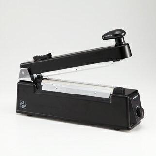 SURE(石崎電機製作所) カッター付卓上シーラー(200mm) ブラック NL-202JC-10-BK