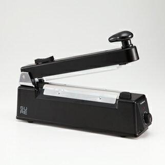 SURE(石崎電機製作所) カッター付卓上シーラー(200mm) ブラック NL-202JC-5-BK