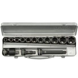 KTC(京都機械工具) 12.7sq.インパクトレンチ用ソケットレンチセット(スタンダード) TBP411P