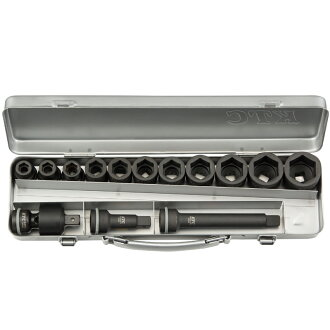 Socket wrench set (standard) TBP411P KTC (KYOTO TOOL Co., Ltd.) for the 12.7sq. impact wrench