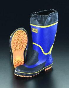 エスコ(ESCO) 25.0cm 安全長靴(アメゴム) EA998RG-25