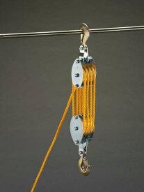 エスコ(ESCO) 300kg ロープホイスト(φ8mmx20mロープ付) EA987CH-10