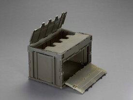 エスコ(ESCO) 649x439x327mm/76.2L 折畳コンテナ(OD/蓋・扉付) EA506AA-23D