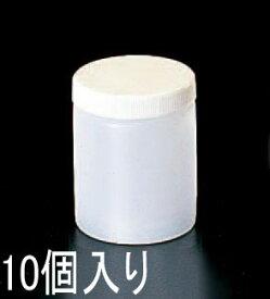 エスコ(ESCO) φ55x67mm/0.10L 広口ポリ容器(10個) EA508AK-3B
