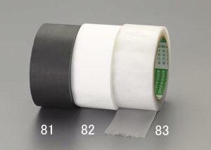 エスコ(ESCO) 50mmx25m 養生テープ(つや消し/黒) EA944ML-81