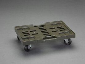 エスコ(ESCO) 534x370mm/150kg ドーリー(OD色/50L用) EA520AB-15