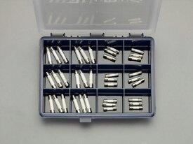 エスコ(ESCO) 250V/φ5.2・φ6.4mm管ヒューズセット(消弧剤入) EA758ZX-20A