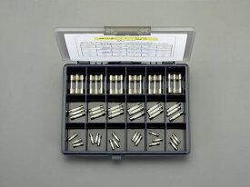 エスコ(ESCO) 250V/φ5.2・6.4・10.3mm管ヒューズセット EA758ZY-0