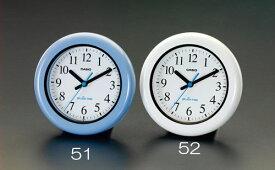 エスコ(ESCO) φ173mm 掛・置兼用時計(防湿・防塵/白) EA798CB-52