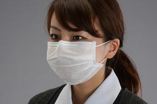 エスコ(ESCO) マスク(簡易粉塵/50枚) EA800MF-1