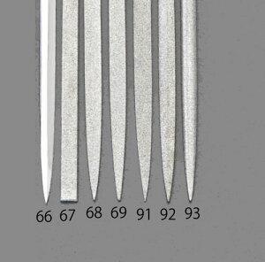 エスコ(ESCO) 140mm/#140 ダイヤモンドニードル鑢(笹刃) EA826VJ-66