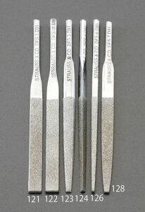 エスコ(ESCO) 2.6x85mm ダイヤモンド鑢(四角・ショート/#140) EA826VM-126