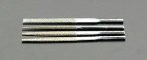 エスコ(ESCO) 4.7x2.3x85mm ダイヤモンド鑢(燕尾・ショート/#200) EA826VM-42