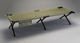 エスコ(ESCO) 2020x760x490mm ベッド(ポータブル/OD色) EA913YG-10