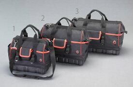 エスコ(ESCO) 320x180x300mm ツールバッグ(ラバーベース付) EA925HB-1