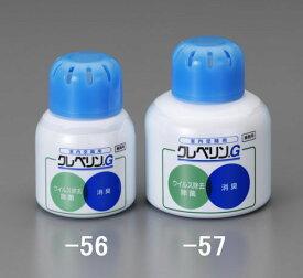 エスコ(ESCO) 60g 除菌・消臭剤(クレベリンG) EA939AC-56