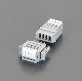 エスコ(ESCO) 300V/5A スクリューレス端子台(3P) EA940DM-73A
