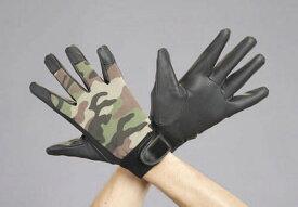 エスコ(ESCO) [L] 手袋(ポリウレタン・迷彩) EA353BB-47