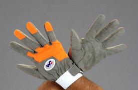 エスコ(ESCO) [L] 手袋(レスキュー・合成革) EA353BK-2
