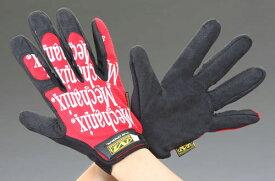 エスコ(ESCO) [L] 手袋・メカニック(合成革/赤) EA353BT-23