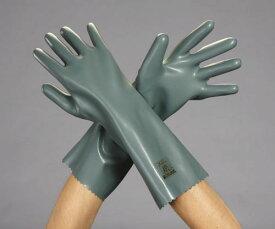 エスコ(ESCO) [L/350mm] 手袋・耐酸・耐アルカリ(ポリエチレン製) EA354BF-51